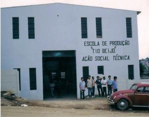 Escola de produção 'Tio Beijo' - Ação Social Técnica on its earlies